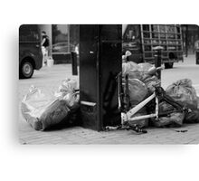 Garbage! Canvas Print