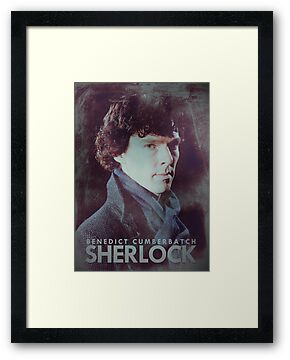 BBC Sherlock Poster & Prints (Benedict Cumberbatch) by curiousfashion