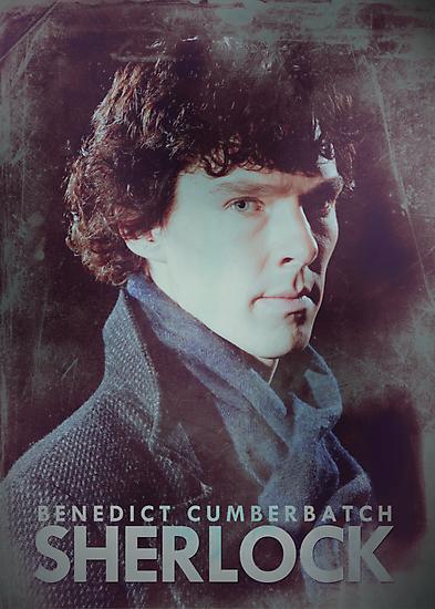 BBC Sherlock Poster & Prints (Benedict Cumberbatch) by curiousfashion