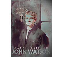 BBC Sherlock John Watson Poster & Prints (Martin Freeman) Photographic Print