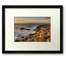 The Giants Causeway County Antrim Northern Ireland Framed Print