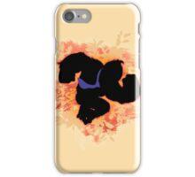 Super Smash Bros. Orange Donkey Kong Silhouette iPhone Case/Skin