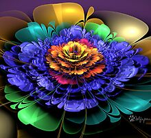 Embossed 3D Bloom by wolfepaw