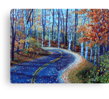 'The Road to Asheville' Canvas Print