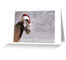 Andalusian Santa Greeting Card