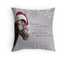 Andalusian Santa Throw Pillow
