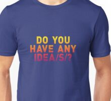 Everything Everything - Do You Have Any Idea(s)? Unisex T-Shirt