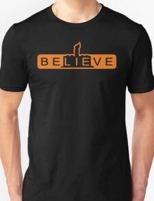 beLIEve orange T-Shirt