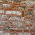 White stone, red brick, pink mortar (Topkap Saray) by Marjolein Katsma