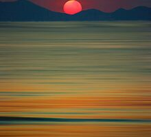 Beach of the Setting Sun by David Alexander Elder