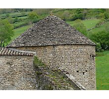 Tower of Berze le Chatel Photographic Print