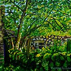 """Hidden from View, Ruined Cottage, near the River Braid, County Antrim"" by Laura Butler"