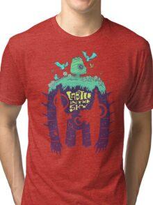 Laputa Robot Tri-blend T-Shirt