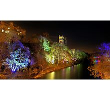 Durham Cathedral at Night Photographic Print