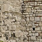Wall repairs in Yedikule Hisar (Yedikule Fortress) by Marjolein Katsma