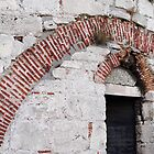 Brick arches in Yedikule Hisar (Yedikule Fortress) by Marjolein Katsma