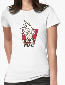Midgar Fried Chocobo KFC MFC Womens Fitted T-Shirt