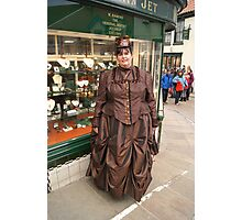 The Goth Weekend at Whitby, Oct 2011. 41 Photographic Print