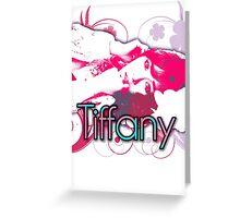 Girls generation (snsd) Tiffany Hwang design Greeting Card