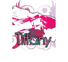 Girls generation (snsd) Tiffany Hwang design Photographic Print