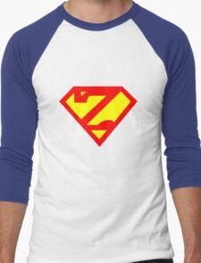Super Zed Men's Baseball ¾ T-Shirt