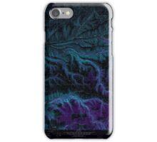 USGS Topo Map Washington State WA Cahill Mountain 240291 1967 24000 Inverted iPhone Case/Skin