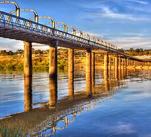 The Bridge - Murray Bridge, South Australia by Mark Richards