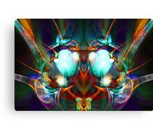 Neon City Lights Canvas Print
