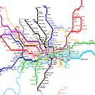 London Metro by Mary Grekos