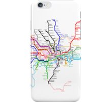 London Metro iPhone Case/Skin