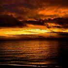 Fisherman's Island Fall Sunset by InvictusPhotog