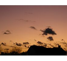 Cold Winter Sky 2 Photographic Print