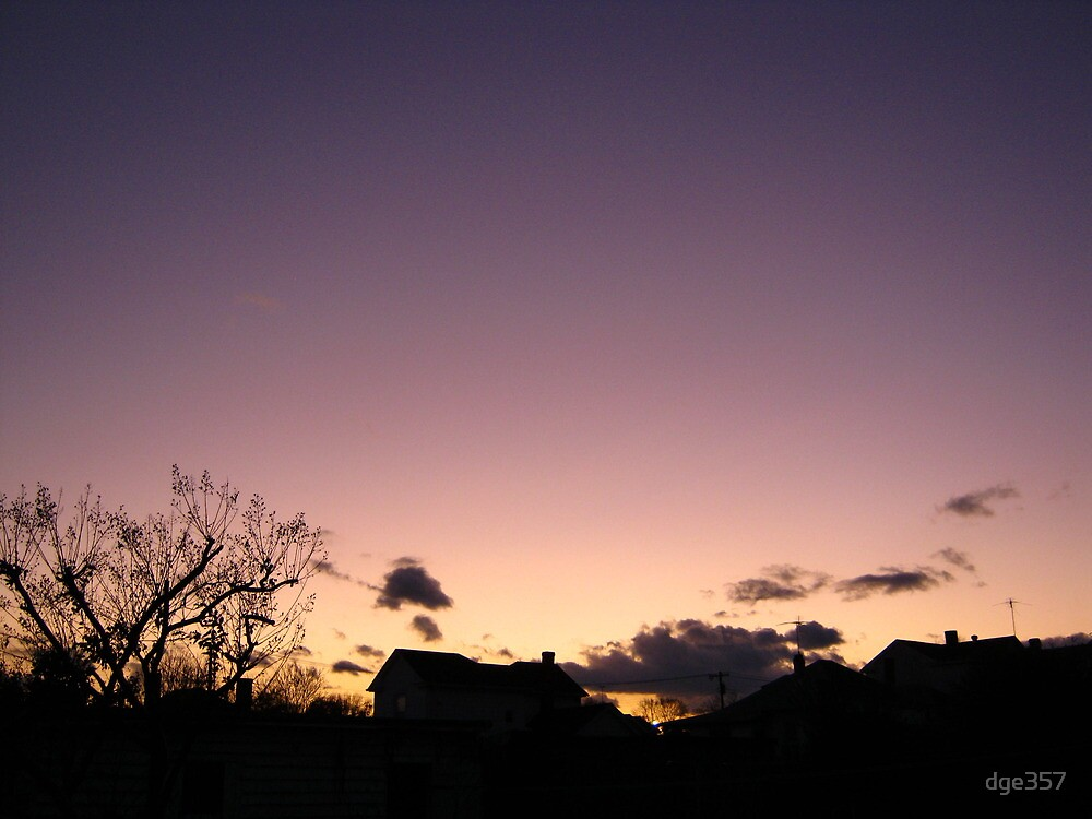 Cold Winter Sky 4 by dge357