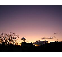 Cold Winter Sky 4 Photographic Print