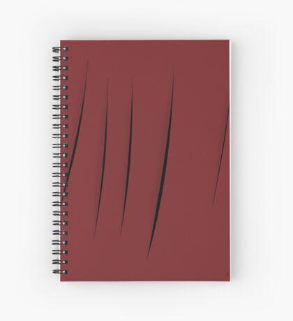 Cuts Spiral Notebook