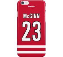 Carolina Hurricanes Brock McGinn Jersey Back Phone Case iPhone Case/Skin