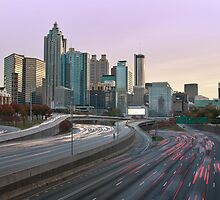 Downtown Atlanta by RayDevlin