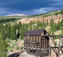 Old ore house, Leadville, CO by AZLiane