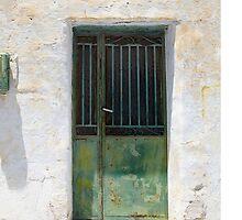 Green Door.. by Mary Grekos