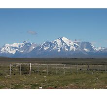 Torres del Paine from a distance Photographic Print