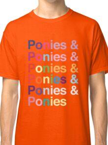 Ponies & Classic T-Shirt