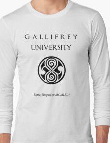 Time Lord University (light) Long Sleeve T-Shirt