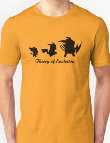 Darwin - Theory Evolution - pikachu - pokemon T-Shirt