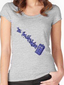 Doctor's Sleigh Women's Fitted Scoop T-Shirt