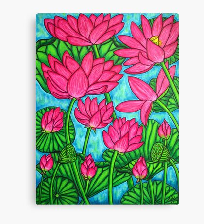Lotus Bliss Canvas Print