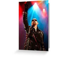 Rob Halford from Judas Priest 2011 Greeting Card