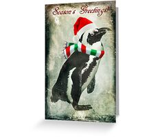 Penguin Greetings! Greeting Card