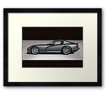 2000 Dodge Viper GTS Framed Print
