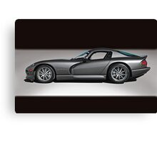 2000 Dodge Viper GTS Canvas Print