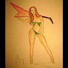 Flying V Rock Goddess by Neil-Lecy
